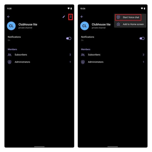 روش ساخت ویس چت در تلگرام