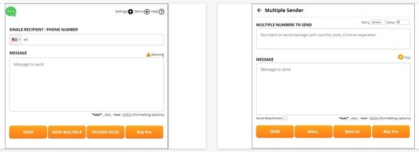 ربات ارسال پیام انبوه در واتساپ WATexter