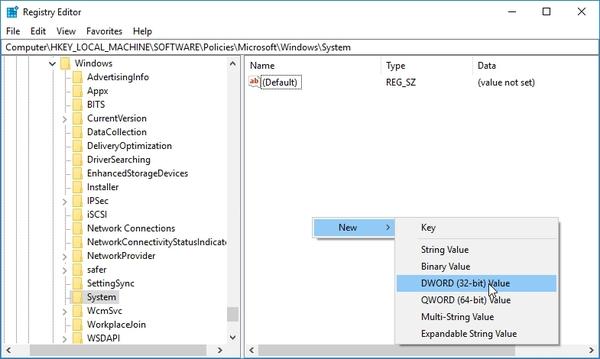 مجوز دادن به PIN Login با ویرایش رجیستری برای حل مشکل حسگر اثر انگشت ویندوز
