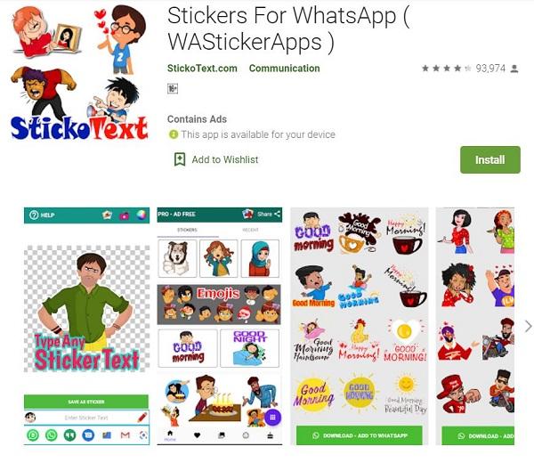 برنامه ساخت استیکر واتساپ Diwali
