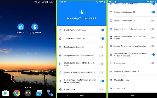 آموزش 5 روش خاموش و روشن شدن صفحه گوشی با دو ضربه