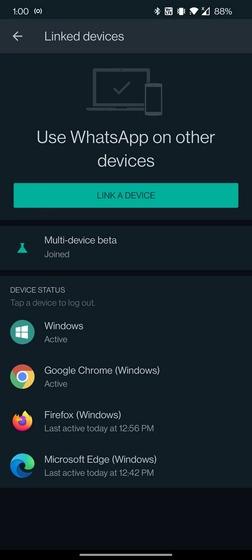 استفاده از واتساپ روی کامپیوتر بدون نیاز به گوشی
