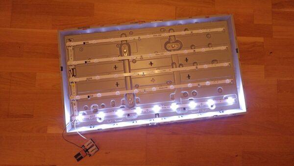 تعمیر لامپ تصویر تلویزیون ال جی
