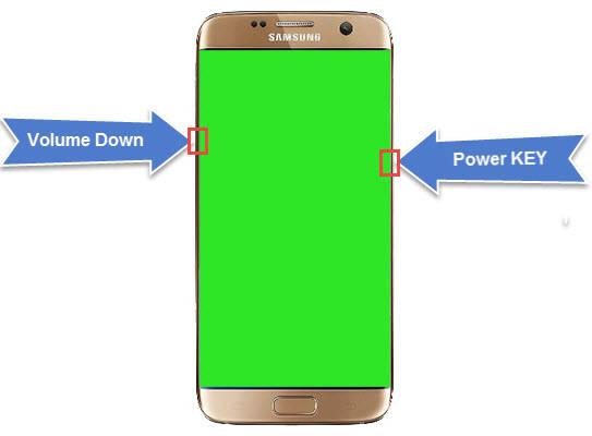 روشهای حل سبز شدن صفحه نمایش گوشی سامسونگ