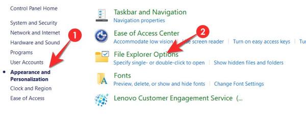 نمایش فایل های مخفی درایو در ویندوز 11