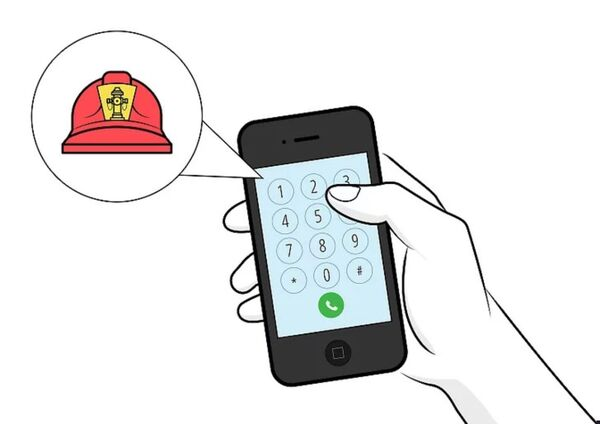 اولین اقدام جهت استفاده از کپسول آتش نشانی چیست؟