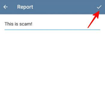 روش ریپورت مخاطبین تلگرام