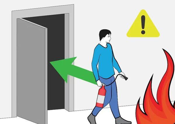 آموزش کار با کپسول آتش نشانی