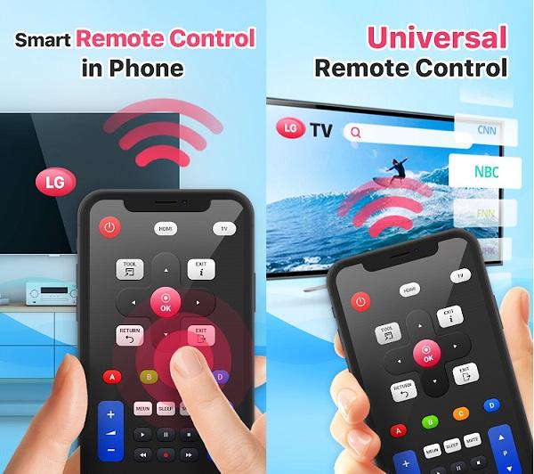 دانلود تبدیل گوشی به کنترل تلویزیون ال جی