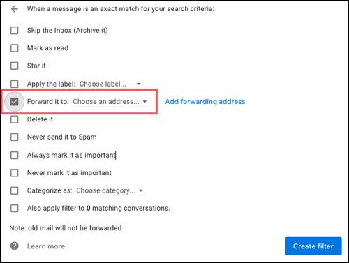 انتقال اطلاعات از یک ایمیل به ایمیل دیگر