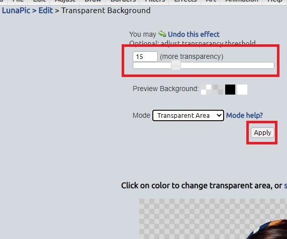 تغییر پس زمینه عکس آنلاین