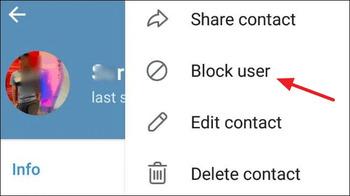 بلاک تلگرام چگونه است